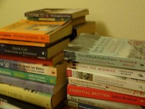 Reading pile DSC00137