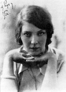 The young Jean Rhys