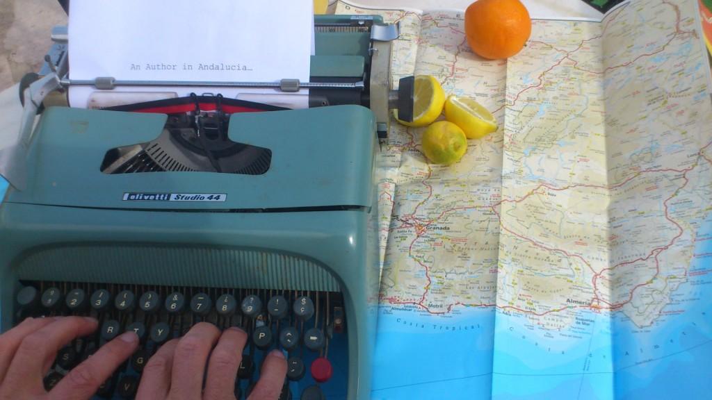 95 Author in Andalucia
