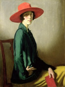 Lady with a Red Hat by William Strang.
