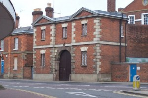 Bedford Prison. Photo by Dennis Simpson, from Wikimedia