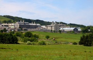 Dartmoor Prison. Photo by Steve Daniels, from Wikimedia
