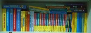 Blyton Bookshelf by Blytonite at en.wikipedia