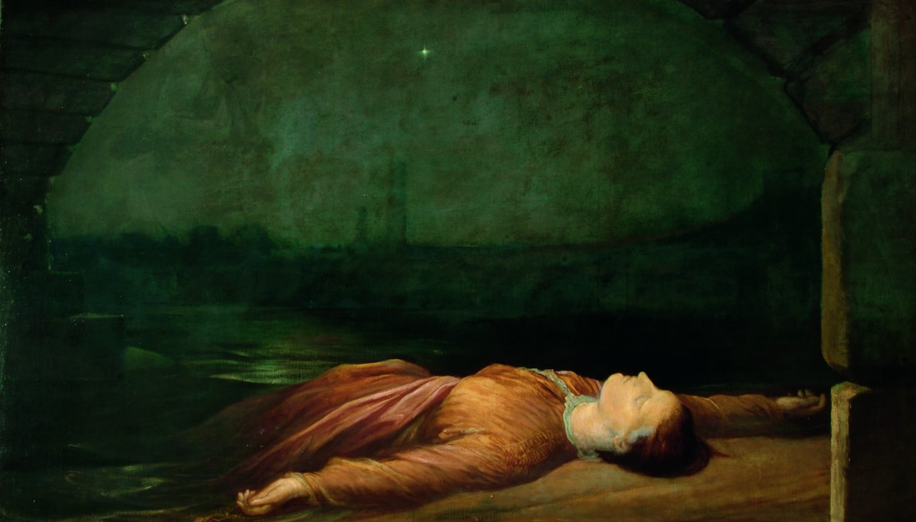 G>F Watts Found Drowned c1848-1850 Watts Gallery. Used with permission
