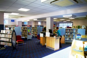 Great Shelford Library, Cambridgeshire, by James Yardley via WikiCommons
