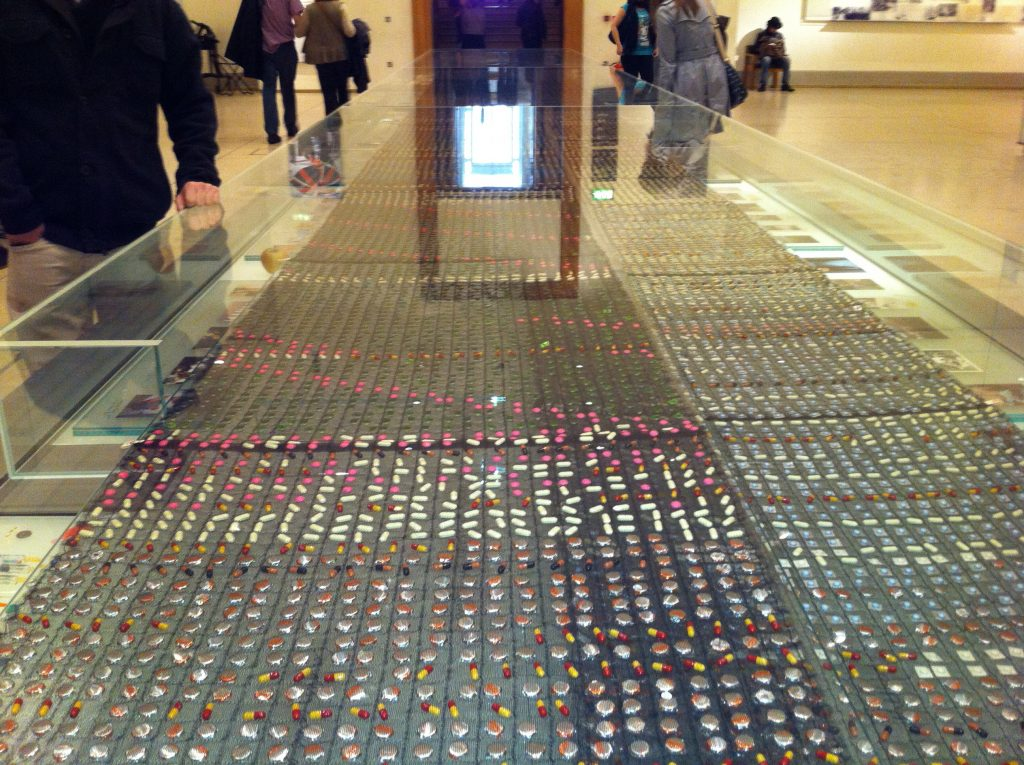 British Museum, tablet display