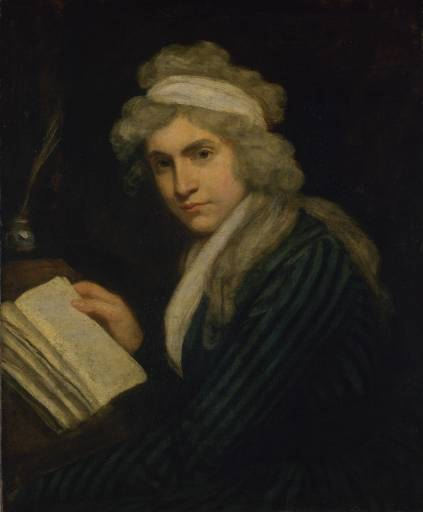 John Opie's portrait of Mary Wollstonecraft