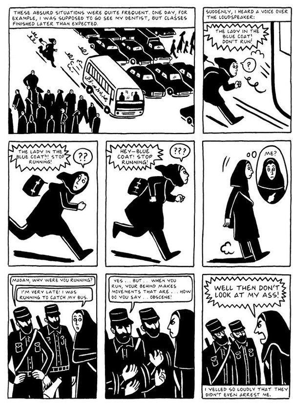 the complete persepolis by marjane satrapi Persepolis is the poignant story of a young girl in iran during the islamic revolution it is through the eyes of precocious and outspoken nine year old marjane that we see a people's hopes dashed .