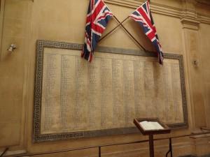 Memorial in lib