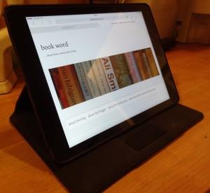 94 Blog on tablet