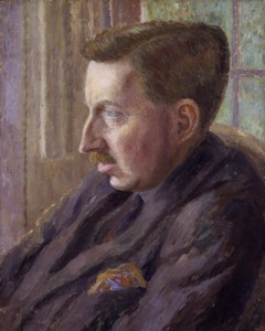 EM Forster by Dora Carrington, 1924