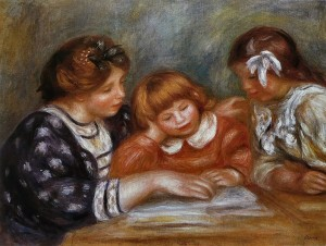 La Lecon by Renoir