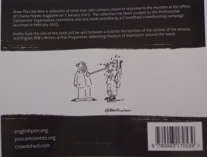 Back cover of Draw the Line Here