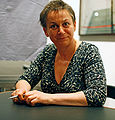 Anne Enright in 2008 by Hpschaefer via WikiCommons