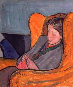 Virginia Woolf c 1912 by Vanessa Bell