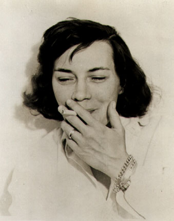 Patricia Highsmith in 1962